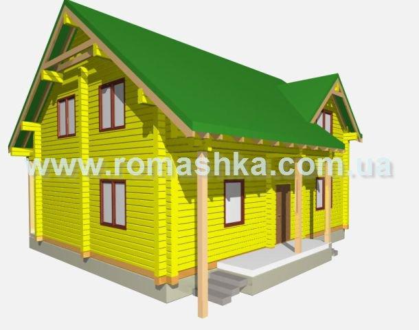 Проект будинку з клеєного