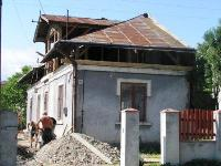Demolition of the old part of house